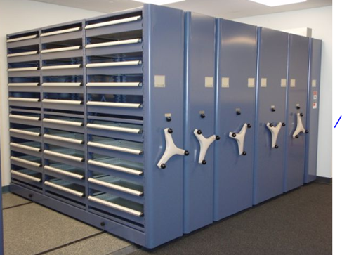 Mobile Aisle shelving systems