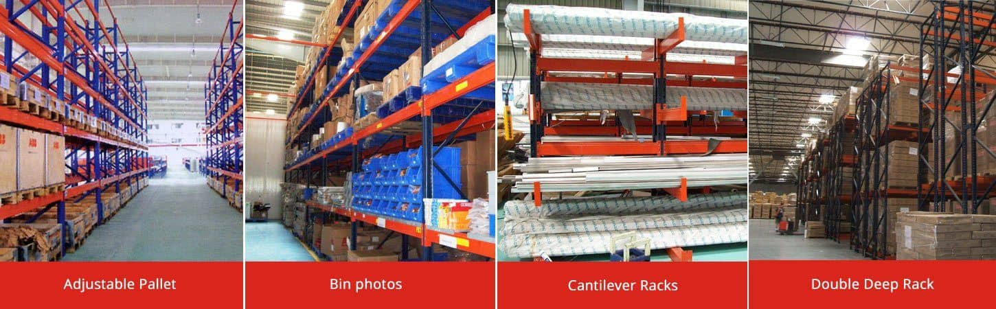 Retail, Industrial storage racks & shelves manufacturer India