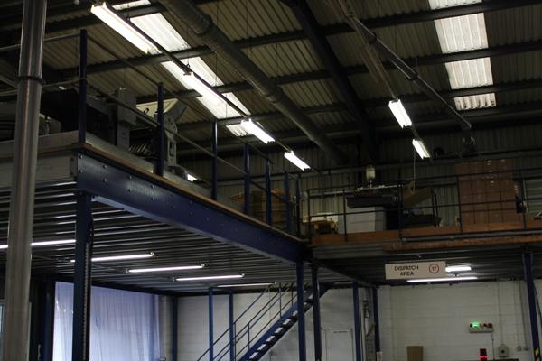 Mezzanine flooring Manufacturer in India
