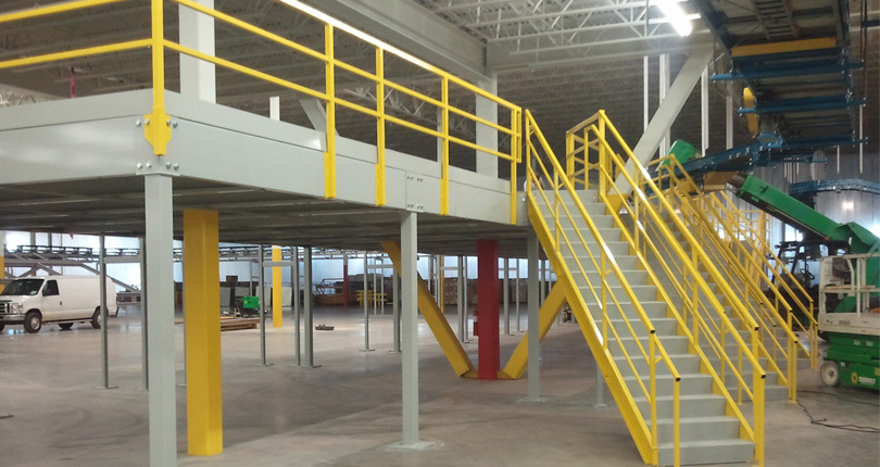 Building Mezzanine Floors