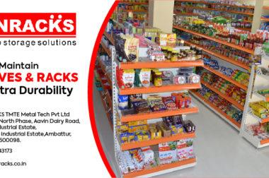 Tips To Maintain Shelves & Racks For Extra Durability