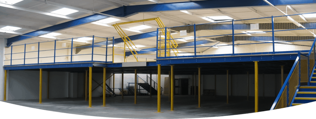 industrial Mezzanine floor space