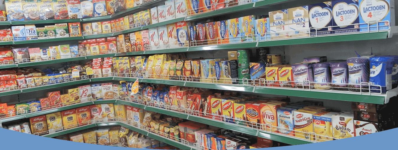 retail supermarket racks manufacturer
