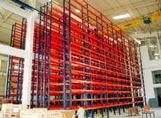 Very Narrow Aisle Pallet Racking Systems