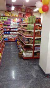 Supermarket Display Racks and Shelves